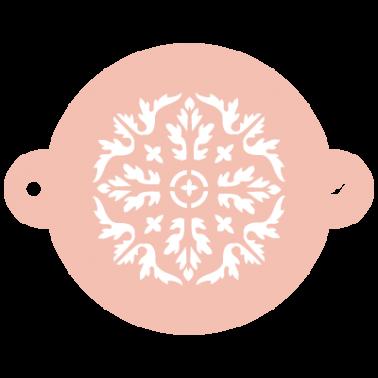 Stencil Reposteria Arabesco 037 Medallón