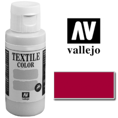 Pintura Vallejo Textil Burdeos 60ml