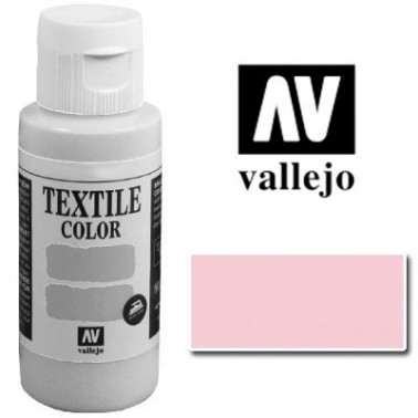 Pintura Vallejo Textil Rosa Claro 60ml