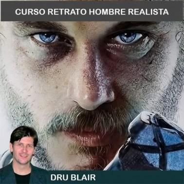 Curso Aerografía Retrato Avanzado Dru Blair