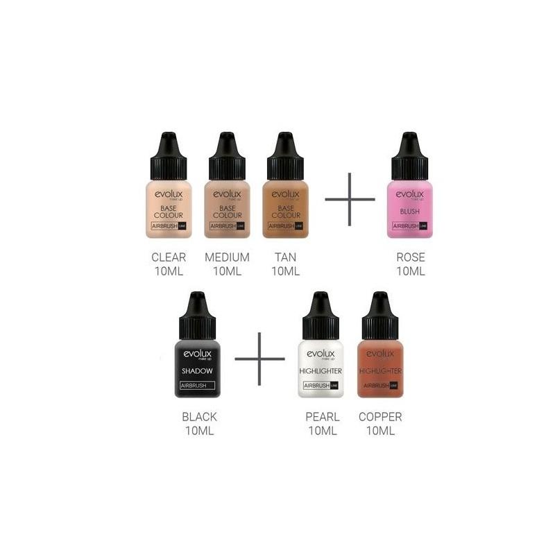 Maquillaje Evolux Kit Iniciación Básico