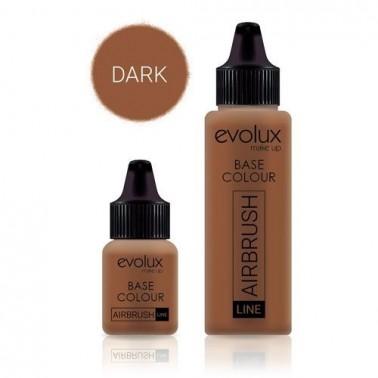 Maquillaje Evolux Base 007 Dark 30ml