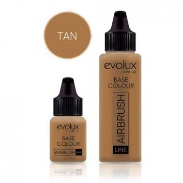 Maquillaje Evolux Base 010 Tan 30ml