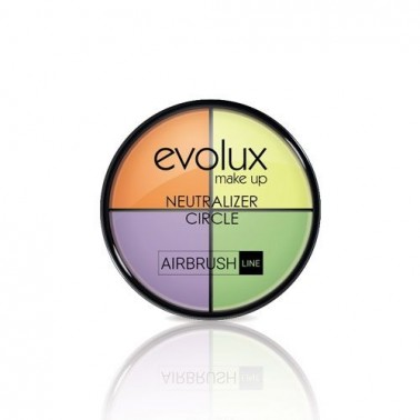 Maquillaje Evolux Rueda Neutralizadora 8gr