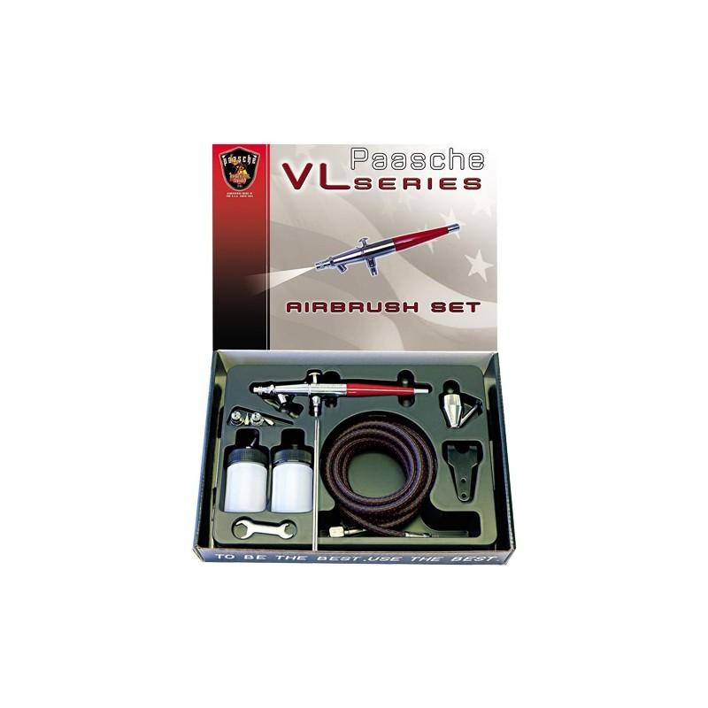 Aerógrafo Paasche VL-SET 3en1
