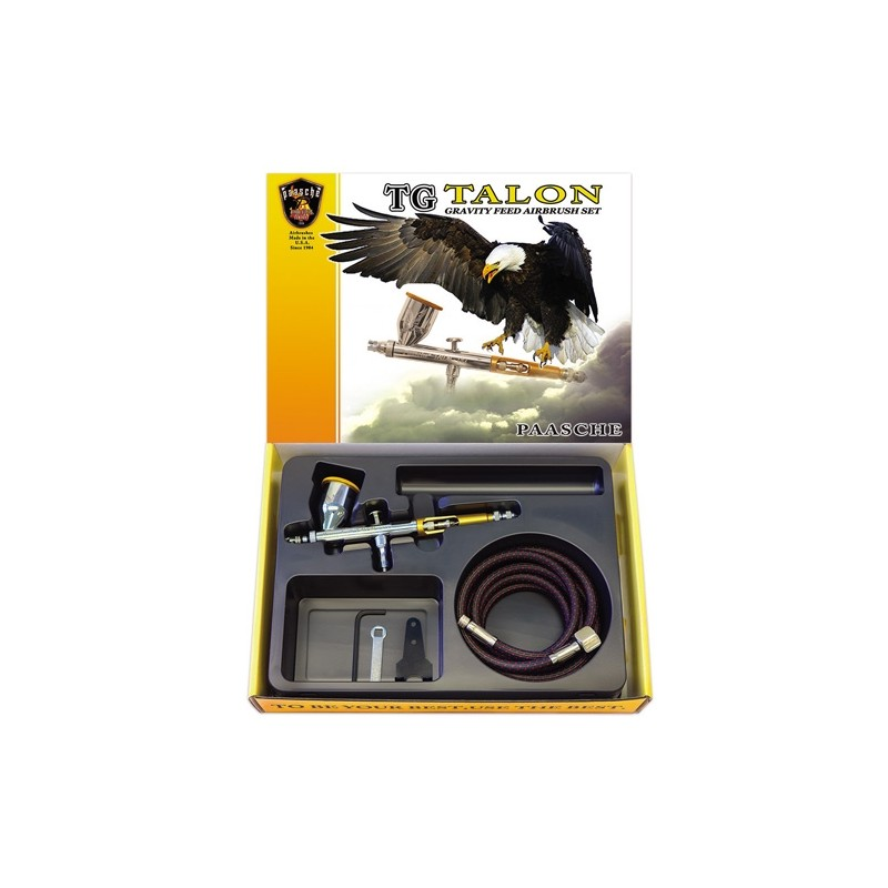 Aerógrafo Paasche Talon 0.38mm SET