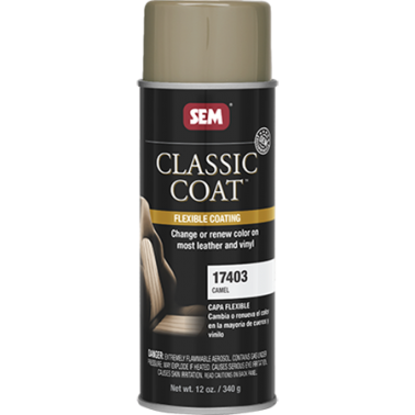 Pintura Cuero Classic Coat Spray Camel