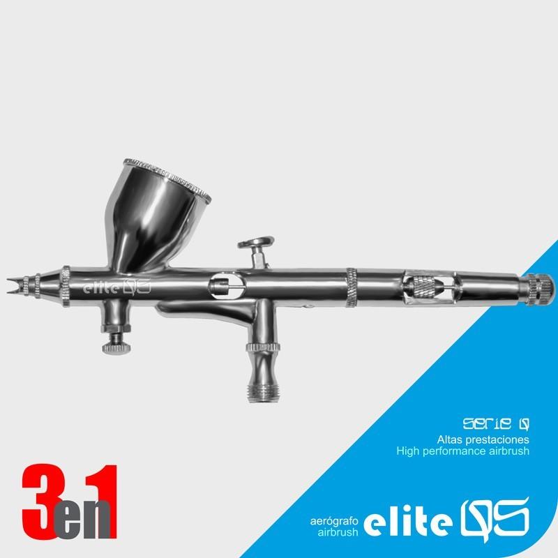 Aerógrafo Elite Q5 3en1