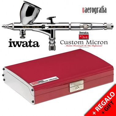 Aerógrafo Iwata Custom Micron CM-C2 Plus