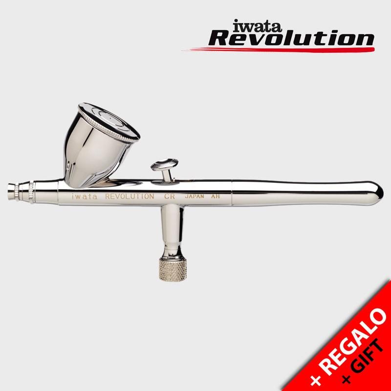 Aerógrafo Iwata Revolution HP-CR