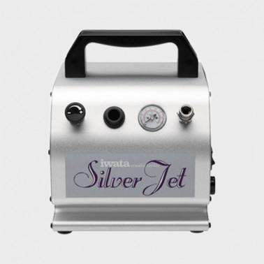 Compresor Aerografo Iwata IS 50 Silver Jet