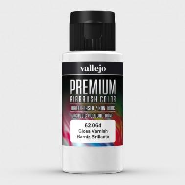 Barniz Brillante Aerografia Premium 62.064 Vallejo 60ml.