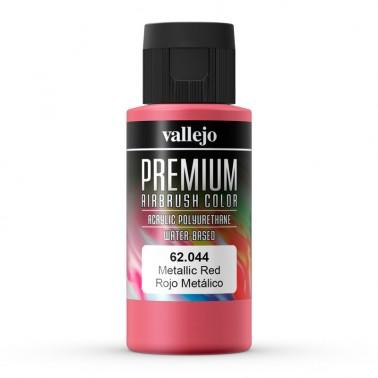 Metálico Rojo Aerografia Premium 62.044 Vallejo 60ml.