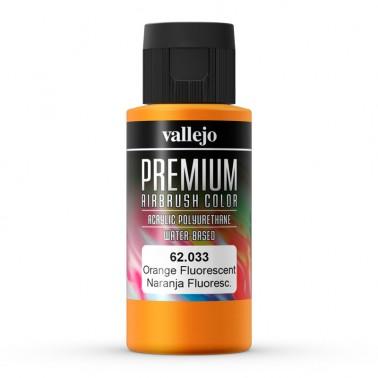 Fluor Naranja Aerografia Premium 62.033 Vallejo 60ml.