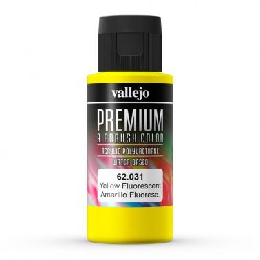 Fluor Amarillo Aerografia Premium 62.031 Vallejo 60ml.
