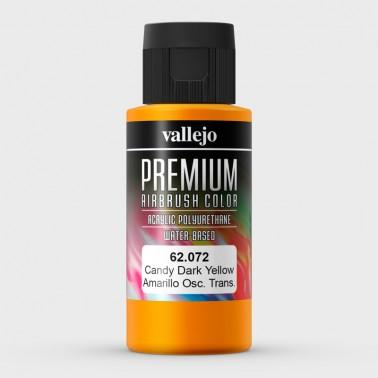 Candy Amarillo Oscuro Aerografia Premium 62.072 Vallejo 60ml.