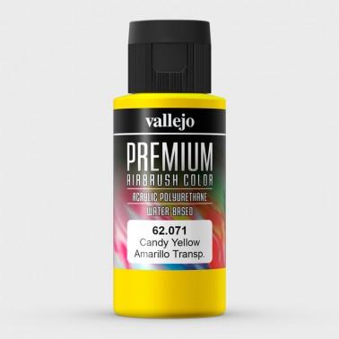 Candy Amarillo Aerografia Premium 62.071 Vallejo 60ml.