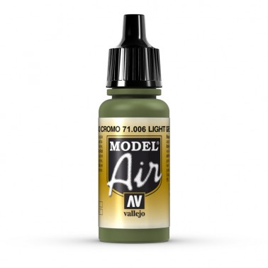 Verde Claro Cromo Aerografia Model Air 71.006 Vallejo 17ml