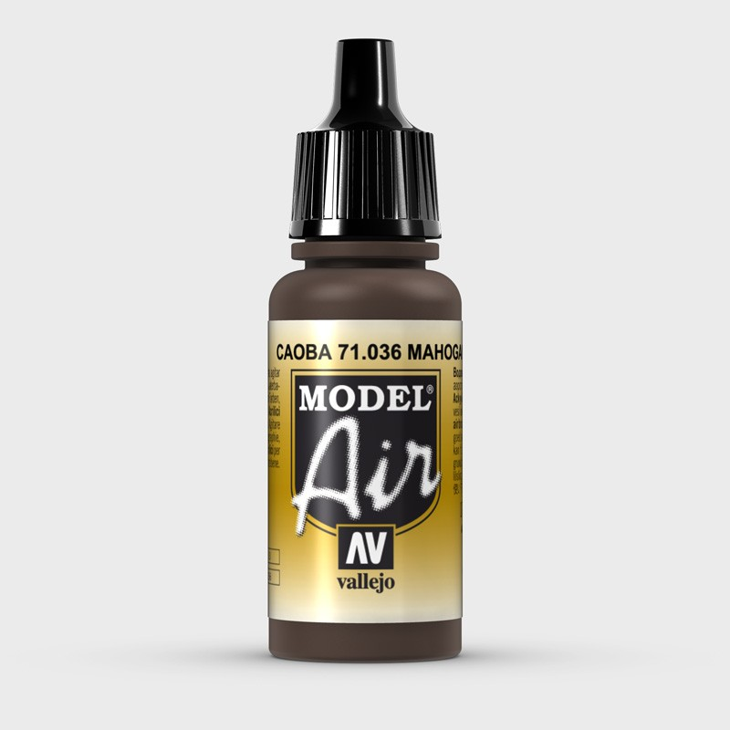 Caoba Aerografia Model Air 71.036 Vallejo 17ml