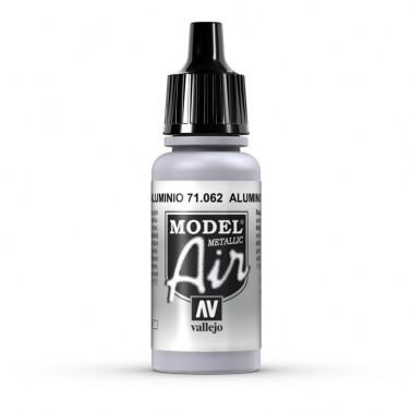 Aluminio Aerografia Model Air 71.062 Vallejo 17ml