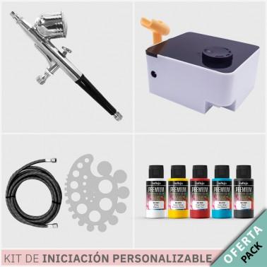 Oferta Kit Aerografía Personalizable Iniciación