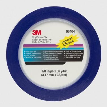 Cinta de Perfilar 3M 6404 Azul 3mm