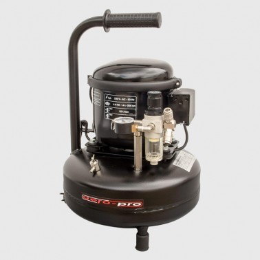 Compresor Aero Pro 30A 8bar 30LxMin 9L