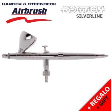 Aerógrafo Harder & Steenbeck Evolution Silverline
