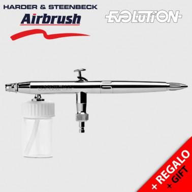 Aerógrafo Harder and Steenbeck Evolution Silverline M - 126123