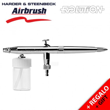 Aerógrafo Harder and Steenbeck Evolution Silverline M - 126123