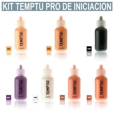 Kit Maquillaje Aerografia Temptu Pro Kit Iniciación