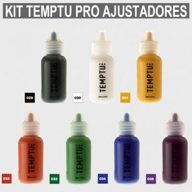 Kit Maquillaje Temptu Pro Ajustadores SB Kit 7