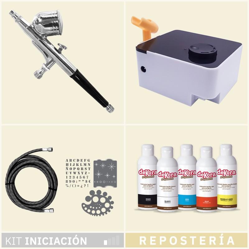 Kit Aerografia 011 Iniciación Repostería