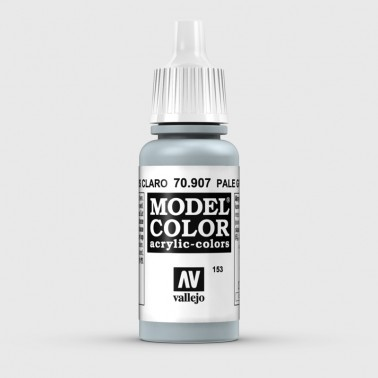 Pintura Aerografia Model Color 70.907 Azul Gris Claro Vallejo 17ml.