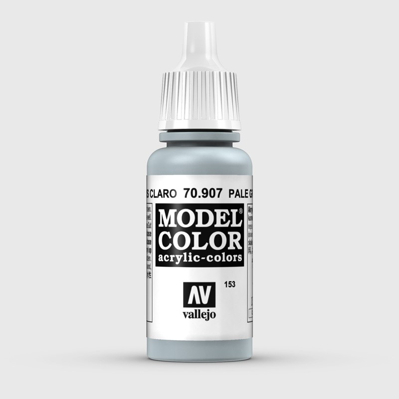 Pintura Aerografia Model Color 70.907 Azul Gris Claro Vallejo 17ml.