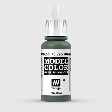 Pintura Aerografia Model Color 70.895 Verde Acorazado Vallejo 17ml.