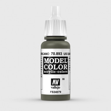 Pintura Aerografia Model Color 70.893 Verde Americano Vallejo 17ml.