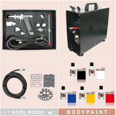 Kit Aerografia 032 Avanzado Bodypaint