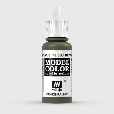 Pintura Aerografia Model Color 70.890 Verde Refractario Vallejo 17ml.