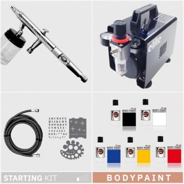 Kit Aerografía Bodypaint Iniciación