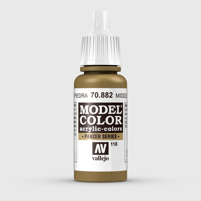 Pintura Aerografia Model Color 70.882 Amarillo Piedra Vallejo 17ml.