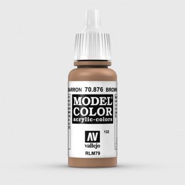 Pintura Aerografia Model Color 70.876 Arena Marrón Vallejo 17ml.