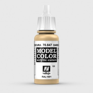 Pintura Aerografia Model Color 70.847 Arena Oscura Vallejo 17ml.