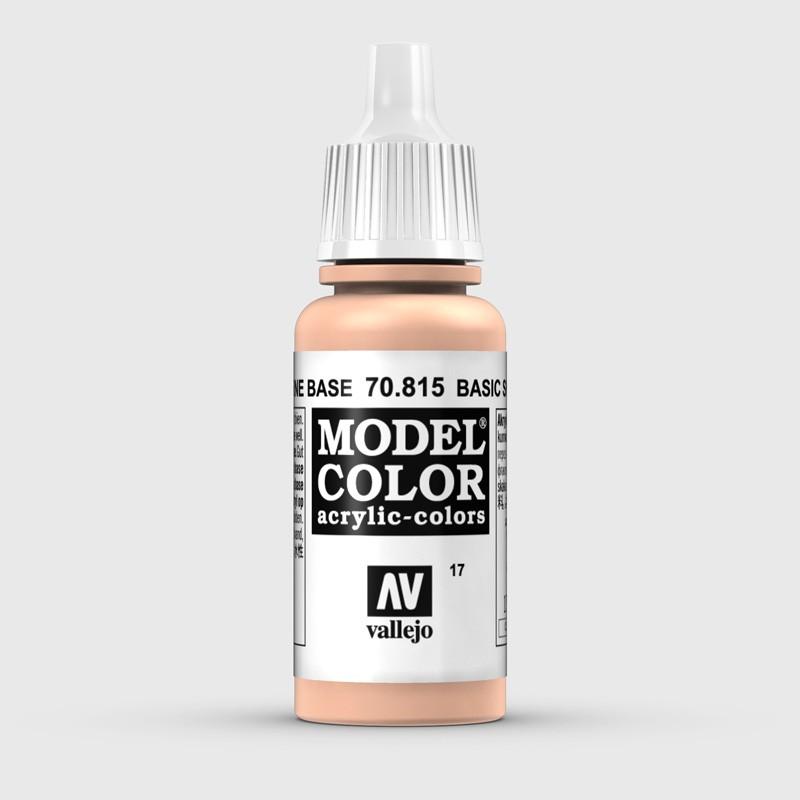 Pintura Aerografia Model Color 70.815 Carne Base Vallejo 17ml.