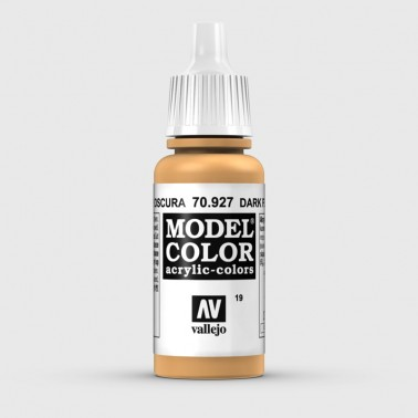 Pintura Aerografia Model Color 70.927 Carne Oscura Vallejo 17ml.