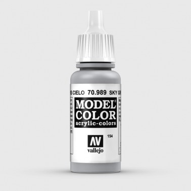 Pintura Aerografia Model Color 70.989 Gris Cielo Vallejo 17ml.