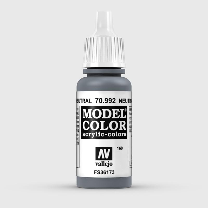 Pintura Aerografia Model Color 70.992 Gris Neutral Vallejo 17ml.
