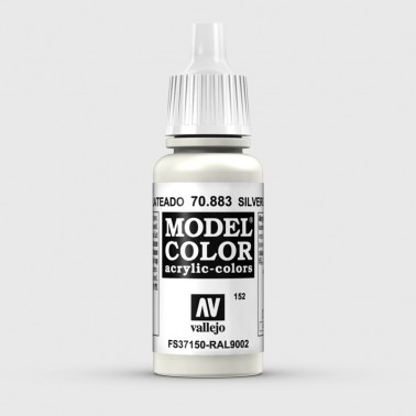 Pintura Aerografia Model Color 70.883 Gris Plateado Vallejo 17ml.