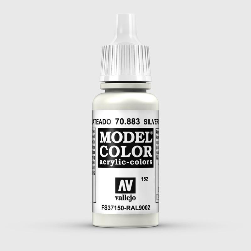 Pintura Aerografia Model Color 70.883 Gris Plateado Vallejo 17ml.