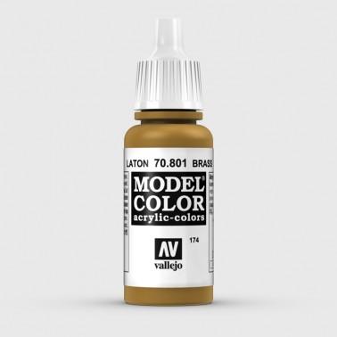 Pintura Aerografia Model Color 70.801 Latón Vallejo 17ml.
